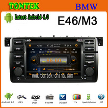 7 inch android touch screen 1 din car radio dvd gps for BMW E46