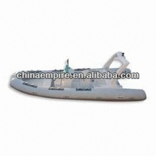 Rigid Hull Inflatable Boat with 9 Maximum Person Capacity and 90hp Power