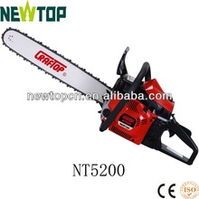 52cc 2kw fuel effecient gasoline powered chain saw CE GS certified