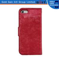 Hot !!! Newest Mobile Phone Leather Case For 5S,For iPhone 5S Case