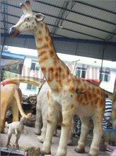 Handmade Fiberglass Life Size Chiristmas Deer