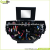 Makeup Organizer Wood Cosmetic case Jewelry storage clear cabinet