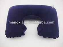 fold flocking magic pillow print logo neck pillow cheap pillow