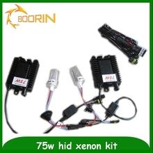 Best quality hid xenon kit 75w 3000K 4300K 5000K 6000K 8000K 10000K 12000K 15000K