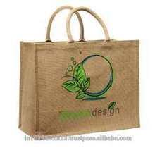 wholesale bags online jute shoppingNatural jute shopping with front pocketJute Shopping BagJute Bag