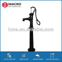 manual hand water pump