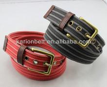 Jeans canvass belt for men