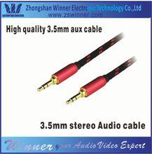 2014 Popular 3.5mm headphone jack y splitter audio adapter cable