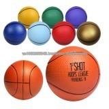 PU stress ball/ promotional ball basketball shape