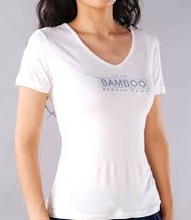 girls comfortable and fashionable short sleeve bamboo fibre t-shirt