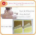 el alivio del dolor parche parche adhesivo médico