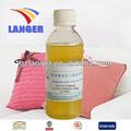 Especial de textiles orgánicos suavizante srs( aceite de silicona para la fibra química)