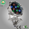 HOT SALE!!! super bright 12V/24V 9W IP68 led pool light bulb with 2 years warranty