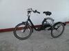 Convenient adult chopper bike
