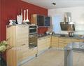 nueva moda completo de mdf material de aluminio del gabinete de la cocina