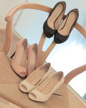 Wave Open Toe Shoes. Korea Hot Fashion Trend Shoes