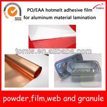PO/Polyolefin hotmelt adhesive film for aluminum lamination