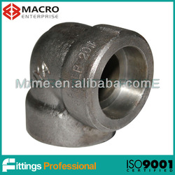 Forged Socket Welded High Pressure Carbon Steel Pipe Fitting Elbow