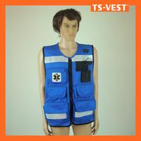2014 style 100% polyester fishing vest custom