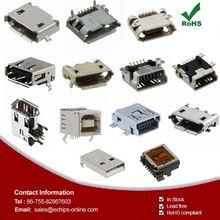 USB DVI HDMI Connectors CONN SOCKET RT ANG FLAT FIREWIRE 53462-0611
