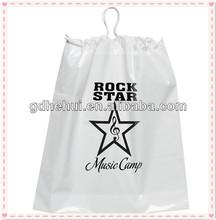 shoulder tote drawstring plastic shoes packaging bag
