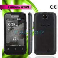 3.5inch TFT Screen MTK6572W Dual Core Android 2.3 WIFI WCDMA Cheapest Original Lenovo A269 Smartphone