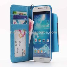Folio Flip Luxury Wallet ID Card Slot Case Cover For Samsung Galaxy S4 i9500