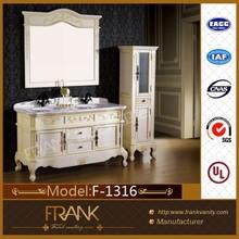 Frank solid wood High quality antique Bathroom Vanity Cabinet unit F-1316