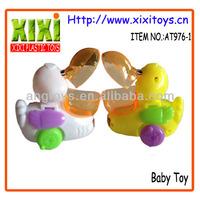 8CM Yellow Plastic Animal Toy Mini Plastic Duck Toy