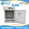 Automatic egg turning incubation machine equipment AI-440 egg candling equipment With good price