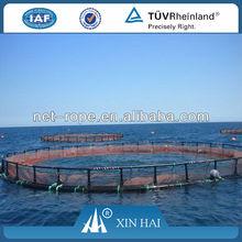 Euro-standard Resisting deep sea stormy wave HDPE/PE Polyethylene deep sea floating net cage,fishery net cage