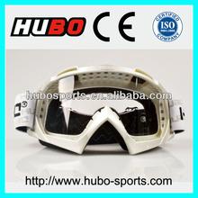 Top design custom logo dirt bike goggles for racing