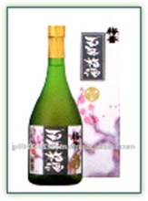 Flavorful and popular Japanese plum wine liqueur for sale