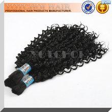 Top selling human hair 6A virgin peruvian twist braiding hair