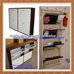 American mdf shoe cabinet shoe rack