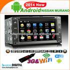 NSN-6200GDA 3G WIFI NISSAN Murano Frontier Pathfinder Patrolcar radio 2-din android gps