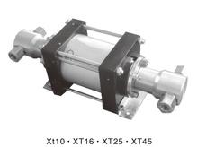 Liquid and air pump XT45 360 Bar outlet pressure