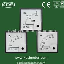 waterproof analog ac dc ampere meter