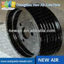 2014 hot sales power steering pump pulley for bmw