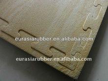 beautiful look rubber wood look tile rubber floor mat