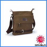 Small Canvas Shoulder Bag Messenger Case for Ipad
