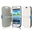 Custom magnetic flip phone leather case for bq aquaris 3.5