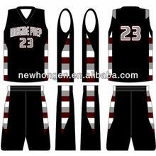 fashion wholesale sublimation basket ball uniform,basketball uniform set with top quality