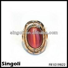 2014 wholesale alibaba irish peridot rings ruby diamond crystal fashion rings gold edge jewelry unusual engagement rings