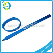 Wholesale custom colorful lovery shape soft silicone promotional fancy ballpoint pen
