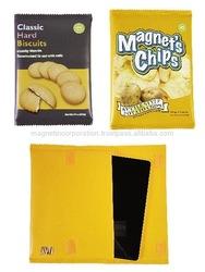 Snack Packaging Design Case for tablet (Biscuit / Potato Chips)