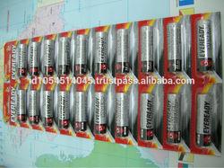 Eveready Alkaline Battery