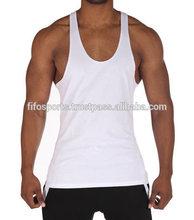 men singlet top/Stringer tank top wholesale /stringer gym singlet for bodybuilding