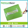 High quality 48V 15AH LiFePo4 battery pack for 1000w electric scooter,golf car with suitable PCM