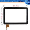 10 pouces à écran tactile de remplacement pour tablet pc, pour 10 pouces tablet pc écran tactile